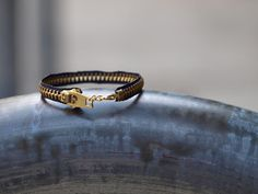 Elemental Carbon: Zipper Bracelet // DIY // Repurpose October