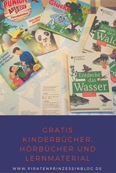 Gratis Kinderbücher, Hörbücher und Lernmaterialien für Kinder / Gratistipps