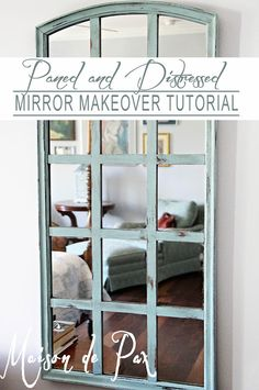 Mirror Makeover Tutorial