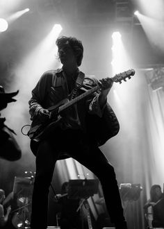Alex Turner in Chicago for The Last Shadow Puppets at Lollapalooza  More photos here: http://www.101wkqx.com/2016/07/29/lolla-2016-the-last-shadow-puppets/