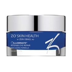 ZO Skin Health Olluminate Intense Eye Repair by Zo Skin Health. $119.49. Retinol: a pure derivative of Vitamin A and the most vital component of any anti-aging skincare program. It is clinically proven to be the most effective anti-aging ingredient to decrease the appearance of fine lines and wrinkles, even skin tone and increase epidermal thickness.. Mica and Titanium Dioxide:proven to be the most effective minerals to diffuse light and create radiant skin.. Vit...
