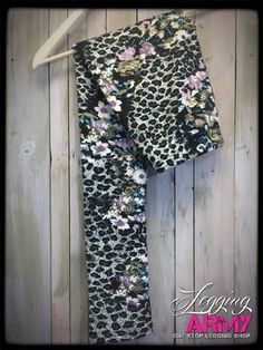 Snow Leopard FUR lined Shipping is always free in the USA. http://leggingarmy.com/#KimzLeggings