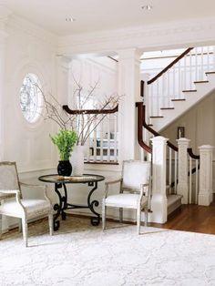 Interior designer Maureen Griffin-Balsbaugh in CT. New England Home.