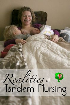 Breastfeeding two kids at the same time - tandem nursing tips and realities