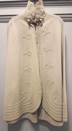 LAST CHANCE! vtg 10s 20s edwardian victorian CAPE CLOAK wool felt EXC CON goth in Clothing, Shoes & Accessories, Vintage, Women's Vintage Clothing, 1901-19 (Edwardian, WWI) | eBay