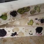 Thermomix Nougat - is nougat really this easy to make??? Y E S !!! Perfect, yummy, easy! 4 ingredients only: honey, egg white, almonds & pistachio nuts