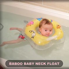 Baby Neck Float 🤗 - Great Goods Deal - Baby Neck Float 🤗 Protect you baby in water! This neck float will keep you baby above water. Designed with grooves that can be placed on the chin to make the baby feel comfortable! Baby Neck Float, Baby Float, Baby Massage, Funny Babies, Cute Babies, Diy Bebe, Baby Care Tips, Milk Bath, Infant Activities
