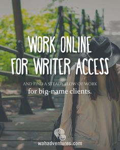 Writer Access pays freelance writers up to 7 cents a word with the option to be paid weekly!