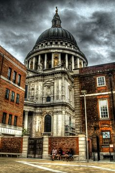 St.Paul's - from Paternoster Square.