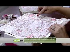 Mulher.com 10/04/2015 - MARISA MAGALHAES BAU COM SCRAPDECOR PT1 - YouTube