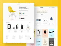 2516095 how to design a great product page for your online shop image source: module 01 ui kit Web Layout, Layout Design, Website Sample, Ecommerce Web Design, Product Page, Web Design Inspiration, Design Ideas, Ui Kit, Shopping Websites