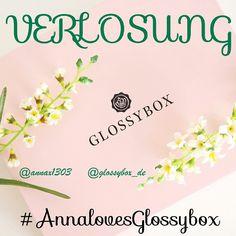 --- Glossybox Verlosung --- - In Zusammenarbeit mit @glossybox_de darf ich eine #Glossybox an euch verlosen. Der Inhalt bleibt eine Überraschung. Wenn ihr wissen wollt, wie ihr an der Verlosung teilnehmen könnt, dann lest euch den nachfolgenden Text aufmerksam durch! - Die Verlosung ist natürlich nur für meine Abonnenten und außerdem solltet ihr @glossybox_de folgen. Eure Aufgabe besteht darin, auf meinem Instaprofil komplett herunterzuscrollen und unter dem siebten Bild von unten, auf dem…