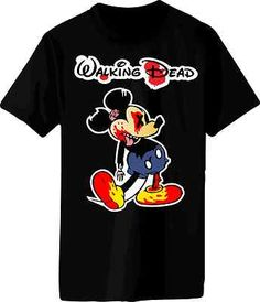 Dead Mickey Mouse Shirt July 2017