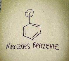 Mercedes Benzene - The Scientist´s Choice