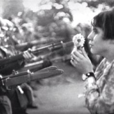 I love this... Anti war protest pic from the 70s