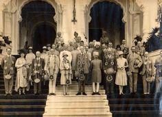 Maharaja Sajan Singh Ji of Ratlam with Viceroy Lord Irwin. Ranjit Bilas Palace Ratlam 3rd August 1928 — in Ratlam. By Rohit Sonkiya