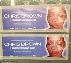 Carolina Leon- I chose this picture to display shock advertising or empathy shock. This advertisement for a Chris Brown concert shows a beat up Rhianna.  This causes a controversy for people who want to attend his concert and view the horrific beat up Rhianna took.  This could cause people to feel bad to support or attend a concert of Chris Brown when viewing these pictures as a campaign not to attend.