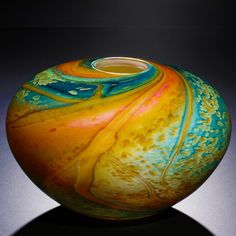 Fields and Fields blown glass - Cosmos