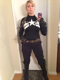 Fem!Cap cosplay - good reference point