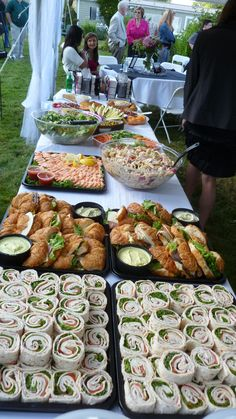 how to set up a sandwich buffet