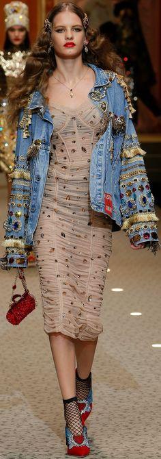 Dolce & Gabbana F/W '18.