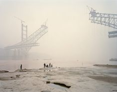 Nadav Kander's Yangtze photographs show a people sold down the river Down The River, Moving Water, Barbican, World Photography, Landscape Photography, Salt And Water, Small Towns, Paris Skyline, Explore