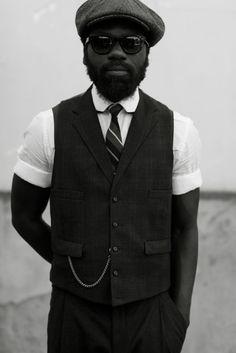 short sleeved collared shirt + vest