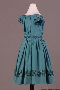 Child's Dress, 1845-1860