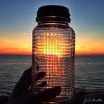 Don't you wish you could bottle those amazing #GrandHaven area sunsets? Us too! Taken by @Jack Hamilton #visitgrandhaven #puremichigan #sunset #lakemichigan