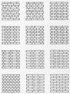 """You must honor and glorify the brick instead of shortchanging it and giving it an inferior job to do in which is loses its characte. Brick Architecture, Architecture Details, Asian Frames, Breeze Block Wall, Brick Images, Brick Texture, Brickwork, Designs To Draw, Quotations"