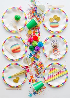 St. Paddy's Day Rainbow Party | Oh Happy Day!