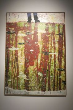 Peter Doig, Reflection (what does your soul look like), 1996. Oil on canvas, 295x200 cm.