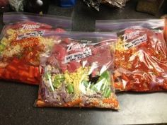 Freezer CrockPot Meals. After looking at several on Pinterest, I decided on this group for its variety, affordability, and healthy ingredients. I've got the grocery list ready and the coupons clipped!