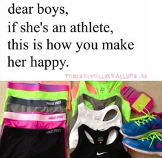 This is starting to be me, I'm in love with athletic clothing. What happened to the days where I dressed fancily? Volleyball Memes, Cheerleading Quotes, Soccer Quotes, Sport Quotes, Softball, Volleyball Workouts, Soccer Memes, Lacrosse, Cheer Outfits