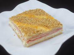 Empanada de hojaldre de jamón y queso Ana Sevilla con Thermomix