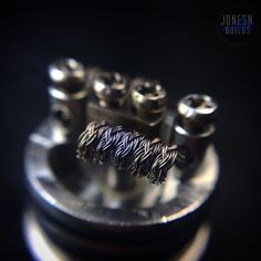Revised the wire from last night and bumped it to 6 strands of 32g A1. Needed more rigidity. Did a 3 loop braid with 2 loops on each finger. Dual 5 wraps reading out to .16  Still want to tweak this one to clean it up some. #Padgram