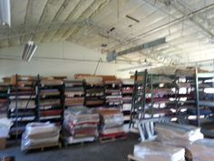 And the paper part of the new warehouse began to be filled.