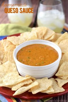 Homemade Queso Sauce