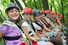 We want more ziplining!