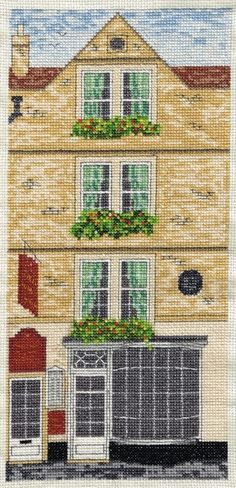 Sally Lunn's (Bath UK) - Cross Stitch Kit