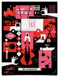 Dexter, Ty Mattson prints