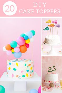 Need some birthday cake inspiration? We got you! Learn how to make your own cake topper for your next birthday party with our selection of the best DIY cake topper. #birthdayparty #diycaketopper #diycandlecaketopper #diyflowercaketopper #freeprintablecaketopper #diycactuscaketopper Kids Birthday Party Invitations, Diy Birthday, Birthday Cake, Flower Cake Toppers, Diy Cake Topper, Diy Party Table, 40th Party Ideas, Diy Unicorn Party, Diy Party Crafts