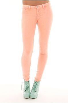 bigchipz.com high waisted colored skinny jeans (02) #skinnyjeans
