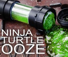 How to Make Slime (Ninja Turtle Ooze)...Bethany! We have to make this for Keegs!