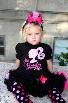Barbie Girl Pettiskirt Set