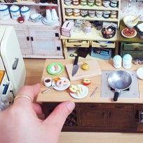 종이와 점토로 만드는 미니어처 아트 119,삼시세끼 집밥요리 미니어처 - 묭스 장미영입니다.