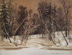 Forest in Winter, 1884