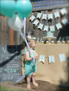 Little Big Company | The Blog: A Mint Themed 2nd Birthday by Jackie from Jack and Kate