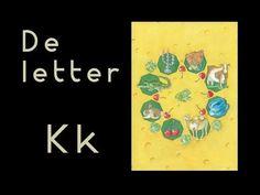abcKRINGBOEKJE De letter K - YouTube Letter School, Letter Of The Week, Letter K, Learning The Alphabet, Preschool, Stage, Winter, Youtube, Art
