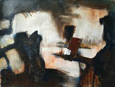 Zonder titel, 2015, 50 x 60 cm, acryl op papier